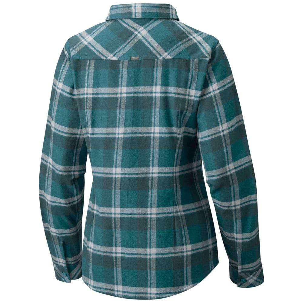 COLUMBIA Women's Simply Put II Flannel Shirt - 336-CLOUDBURST PLAID