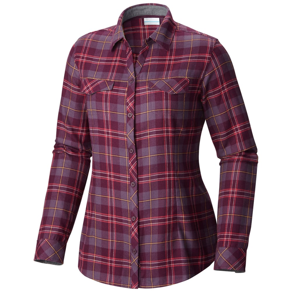 COLUMBIA Women's Simply Put II Flannel Shirt XS