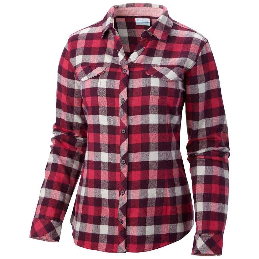 COLUMBIA Women's Simply Put II Flannel Shirt - PURPLE DHALIA CHECK
