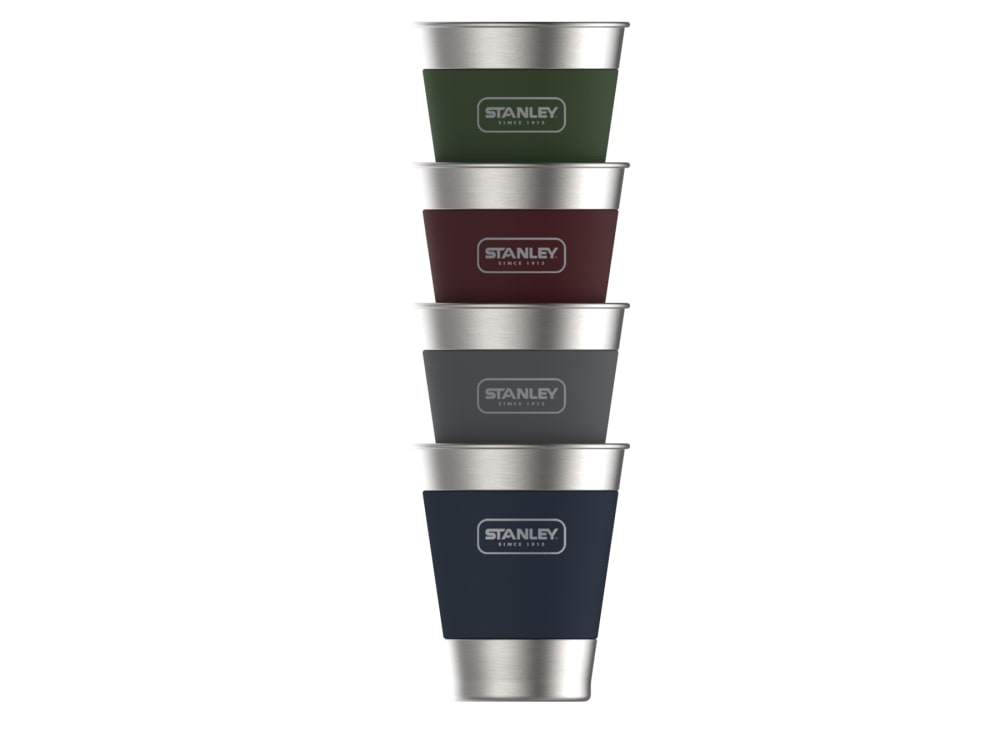 STANLEY 12 oz. Adventure Stacking Steel Tumblers, 4 Pack - MULTI