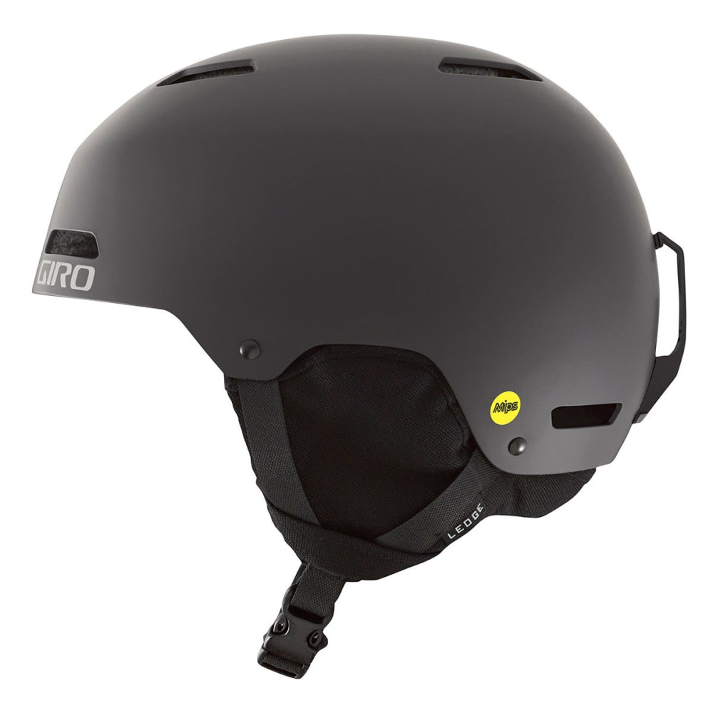 GIRO Men's Ledge MIPS Snow Helmet - MATTE BLACK