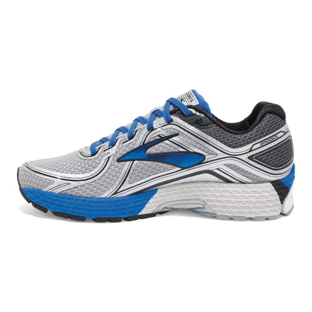 BROOKS Men's Adrenaline GTS 16 Running Shoes - SILVER - D WIDTH