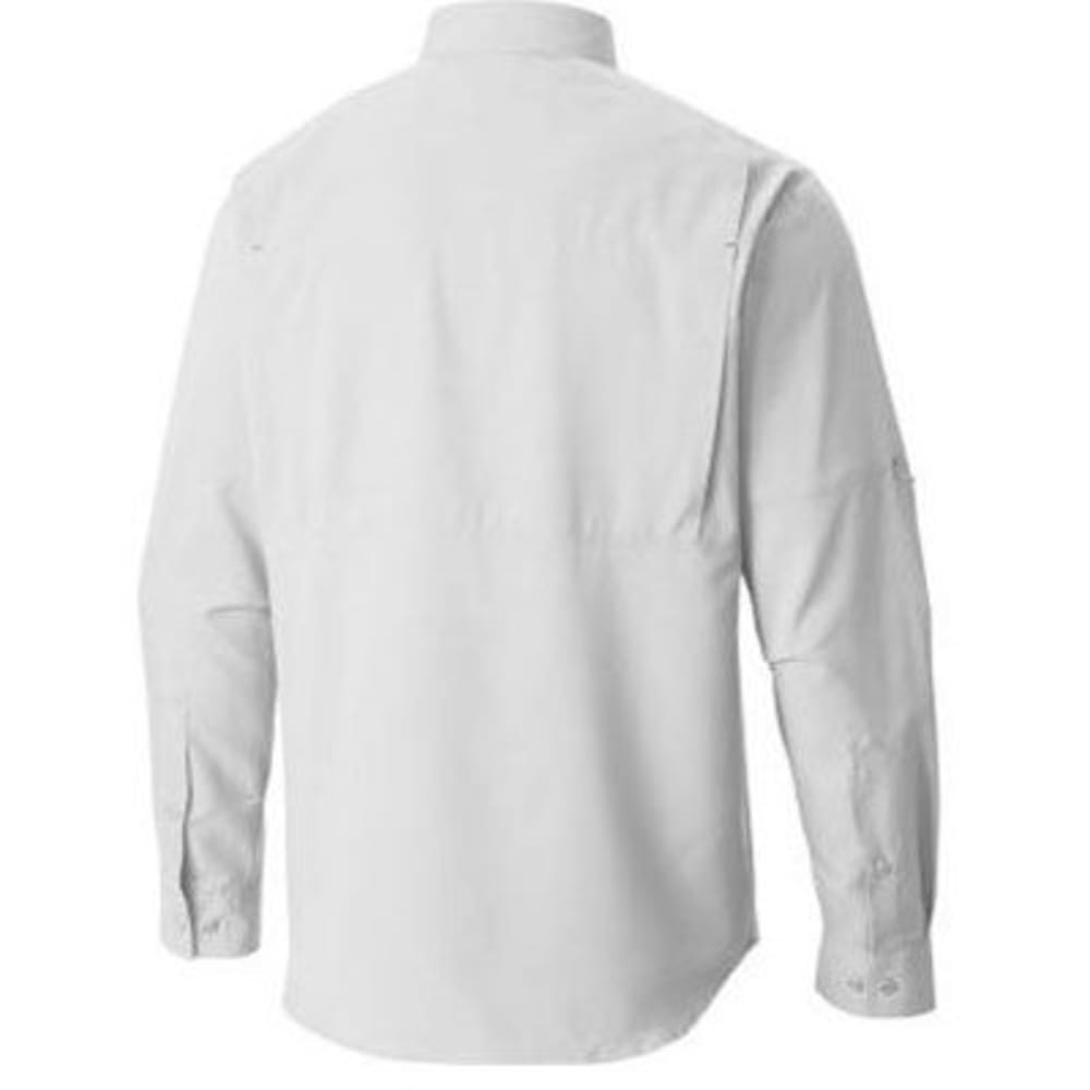 COLUMBIA Men's Silver Ridge Lite Long-Sleeve Trail Shirt - 100-WHITE