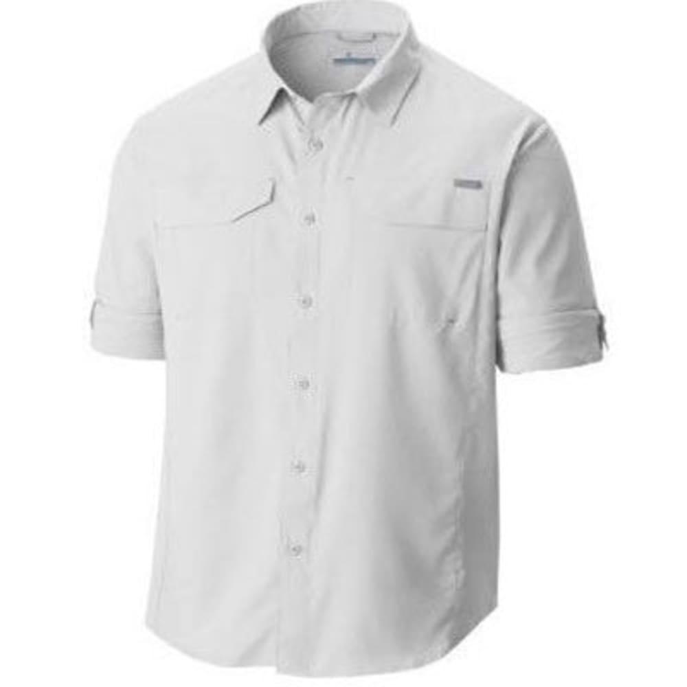 COLUMBIA Men's Silver Ridge Lite Long-Sleeve Trail Shirt - 100-WHITE