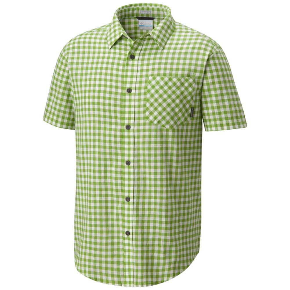 COLUMBIA Men's Katchor II Short-Sleeve Woven Shirt L