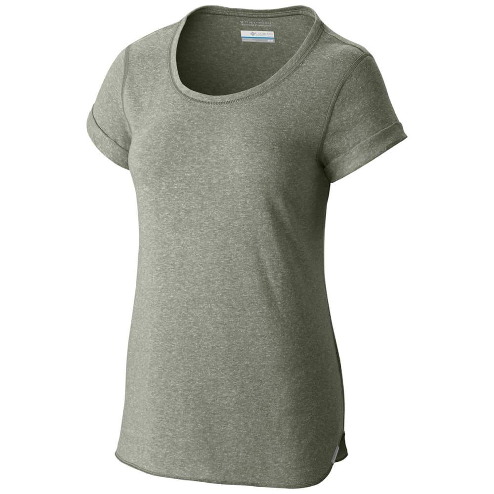 COLUMBIA Women's Trail Shaker Short-Sleeve Shirt - 316-CYPRESS HTHR