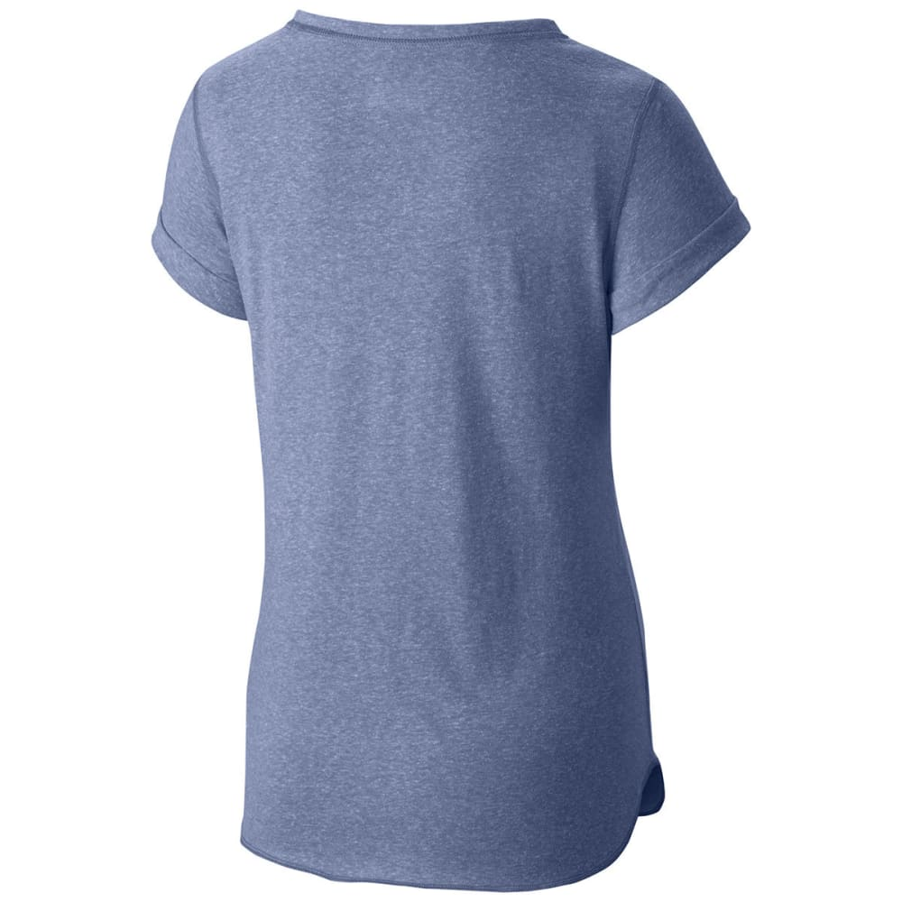 COLUMBIA Women's Trail Shaker Short-Sleeve Shirt - 508-BLUEBELL HTHR