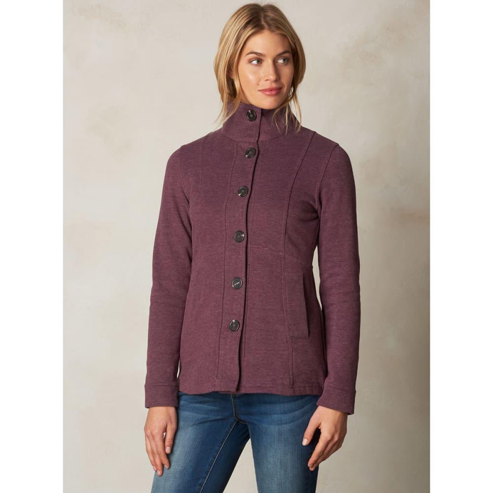 PRANA Women's Catrina Jacket - EGGPLANT