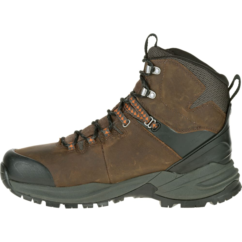 be7fae5a3926a2 MERRELL Men's Phaserbound Waterproof Backpacking Boot, Clay -  CLAY/ORANGE