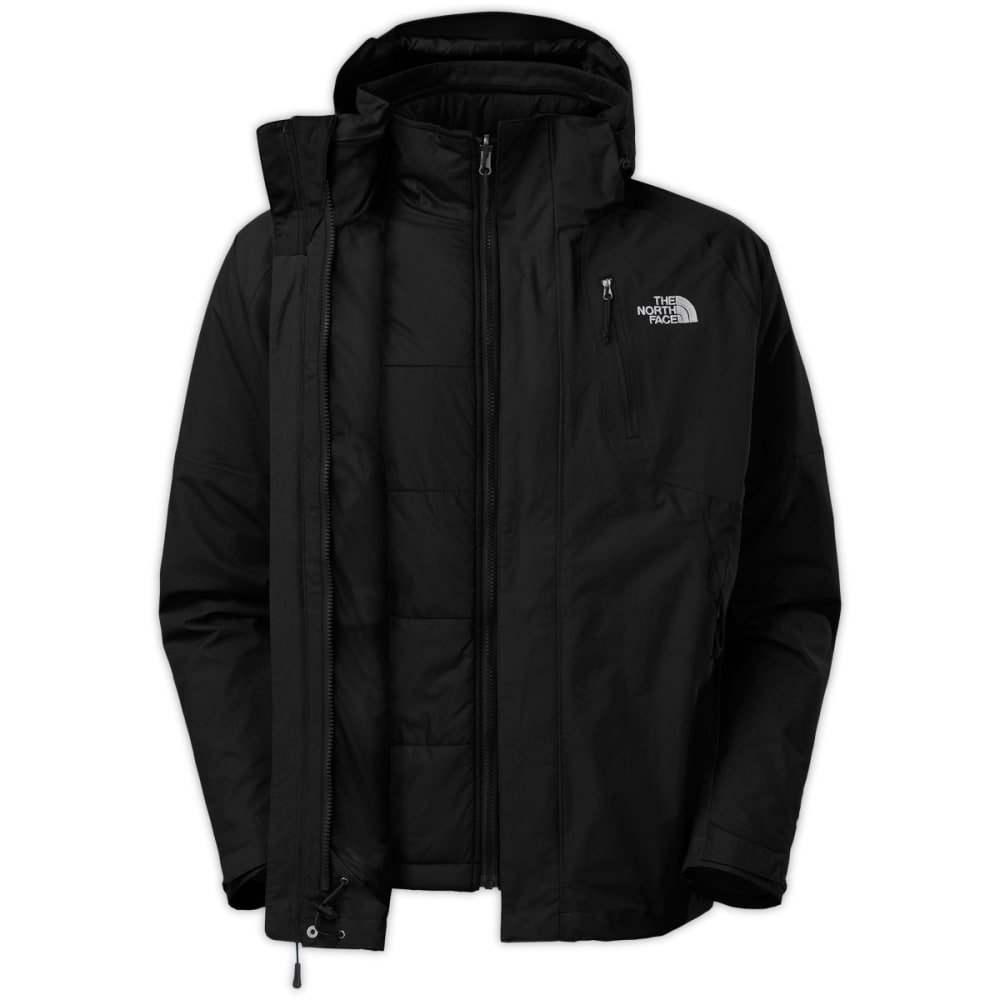 THE NORTH FACE Men's Carto Triclimate Jacket - TNF BLACK/TNF BLACK