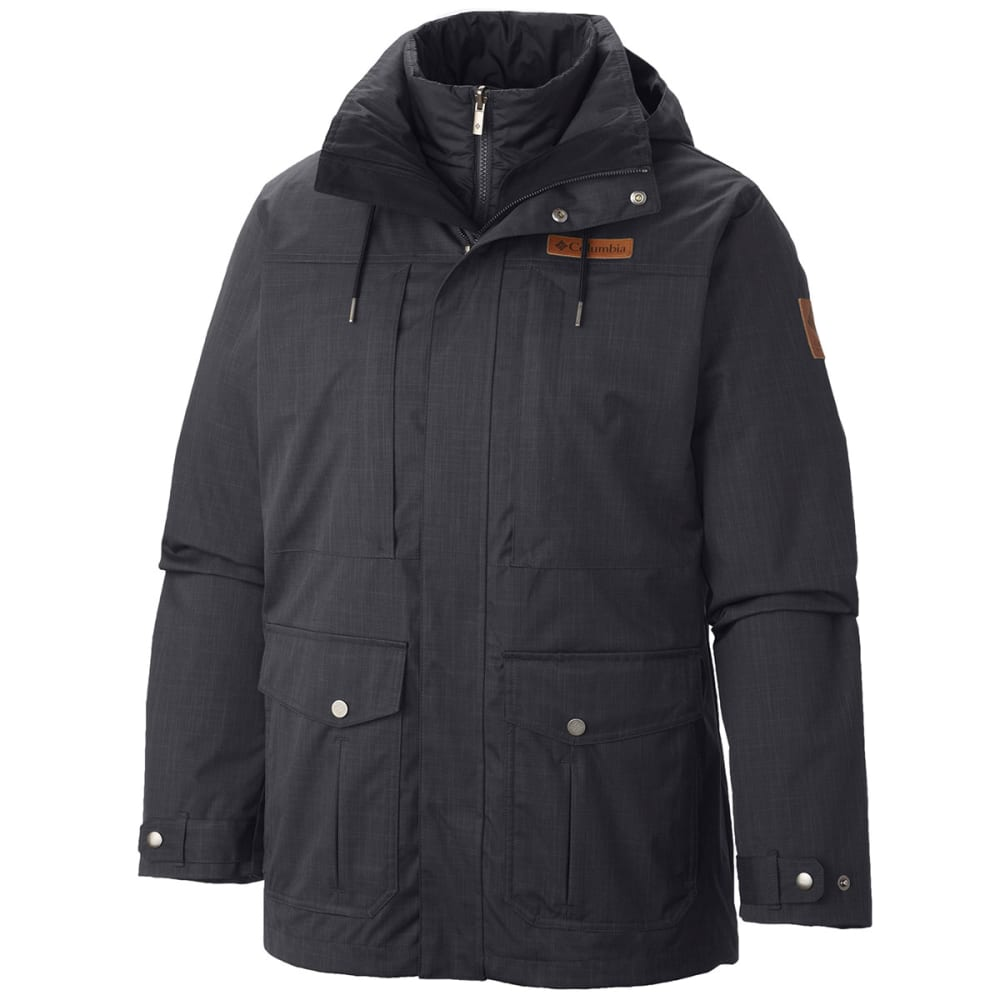 COLUMBIA Men's Horizons Pine™ Interchange Jacket - BLK/BLK-011