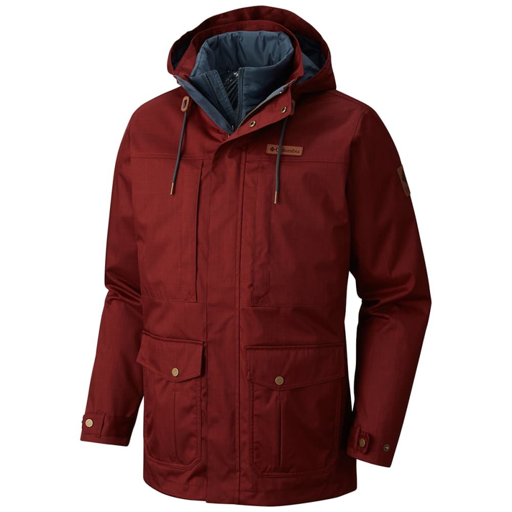 COLUMBIA Men's Horizons Pine™ Interchange Jacket - DEEP RUST/MYSTER-837