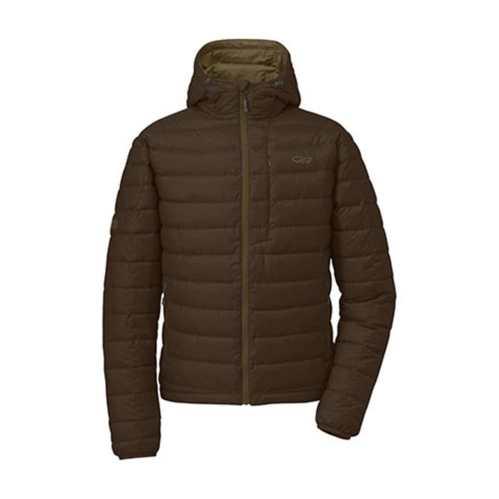 OUTDOOR RESEARCH Men's Transcendent Hoodie - EARTH/CAFE