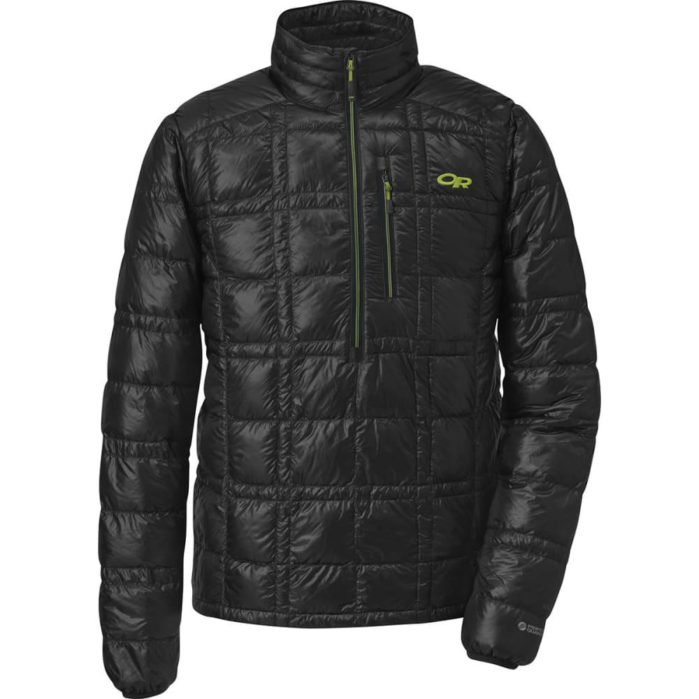 OUTDOOR RESEARCH Men's Filament Pullover - BLACK