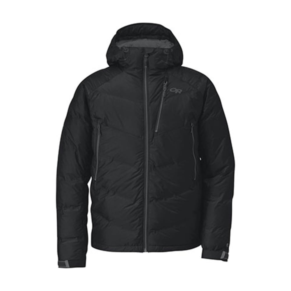 OUTDOOR RESEARCH Men's Floodlight Jacket - BLACK/CHARCOAL