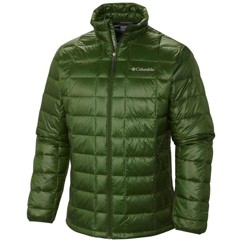COLUMBIA Men's Trask Mountain 650 Turbodown™ Jacket - WOODLAND