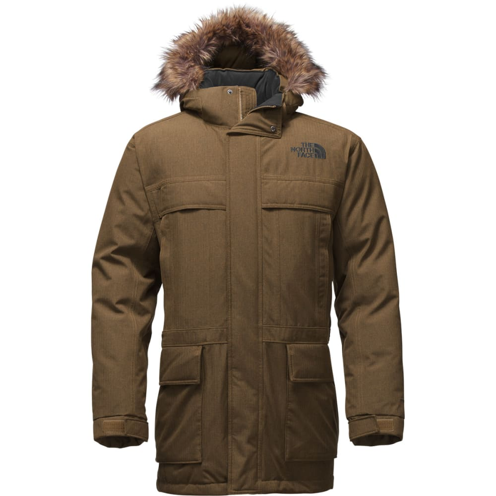 THE NORTH FACE Men's McMurdo Parka II - BROWN FIELD HEATHER