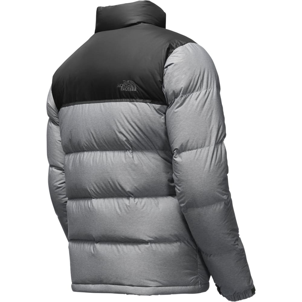 THE NORTH FACE Men's Nuptse Jacket - MED GREY/TNF BLK-GVD
