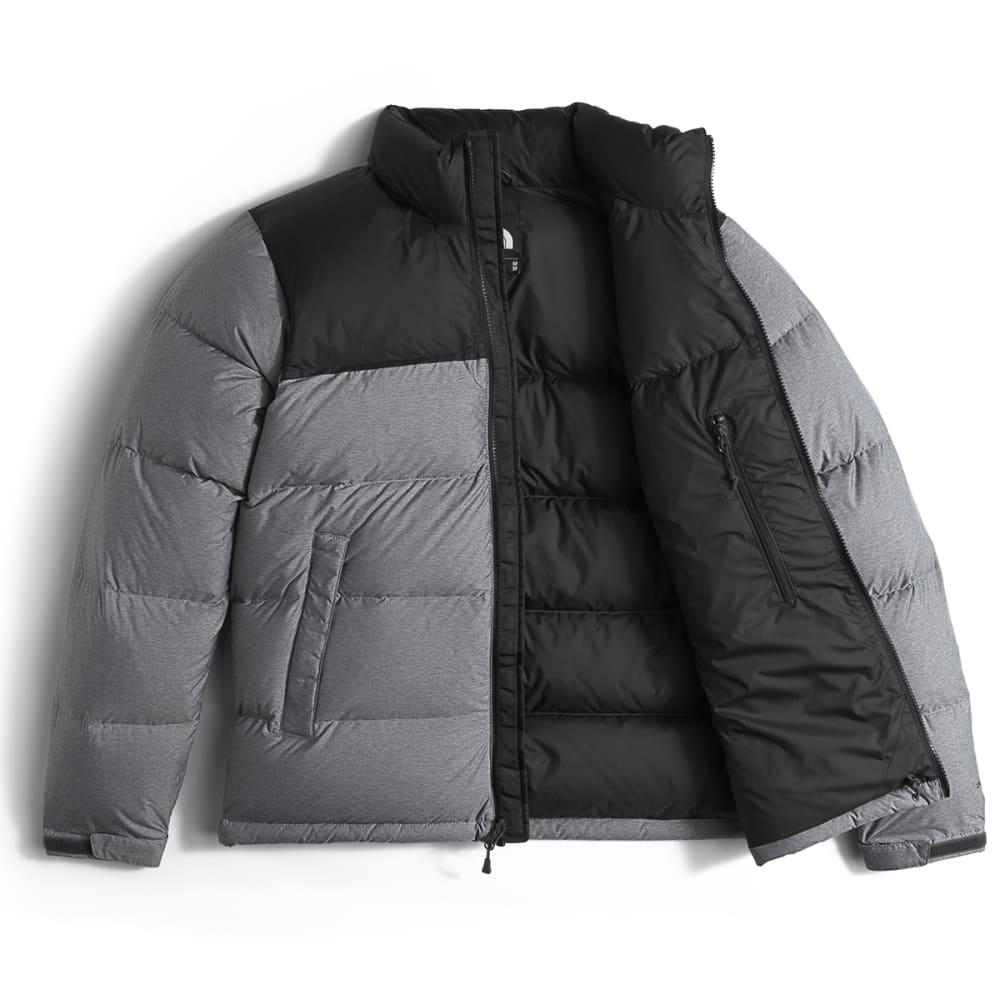 THE NORTH FACE Men's Nuptse Jacket - MED GREY/TNF BLK-GVD