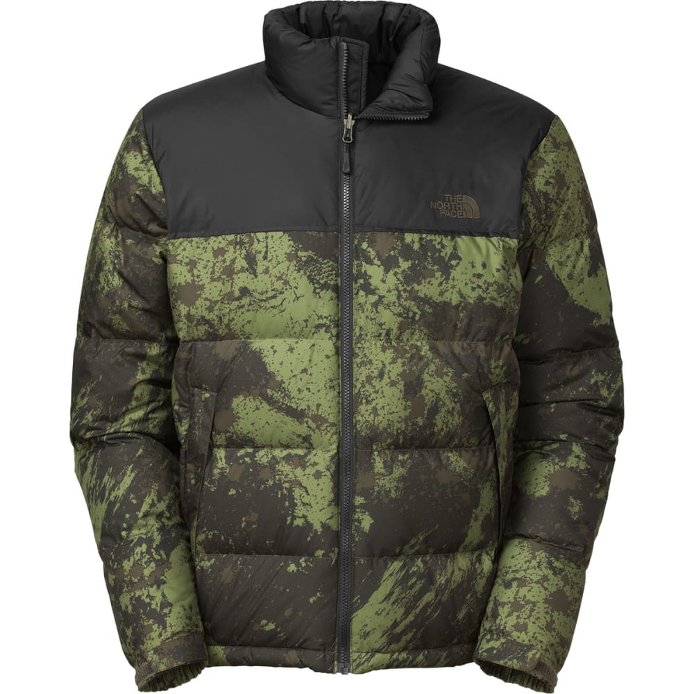 THE NORTH FACE Men's Nuptse Jacket - BLK INK GRN BRSH STR