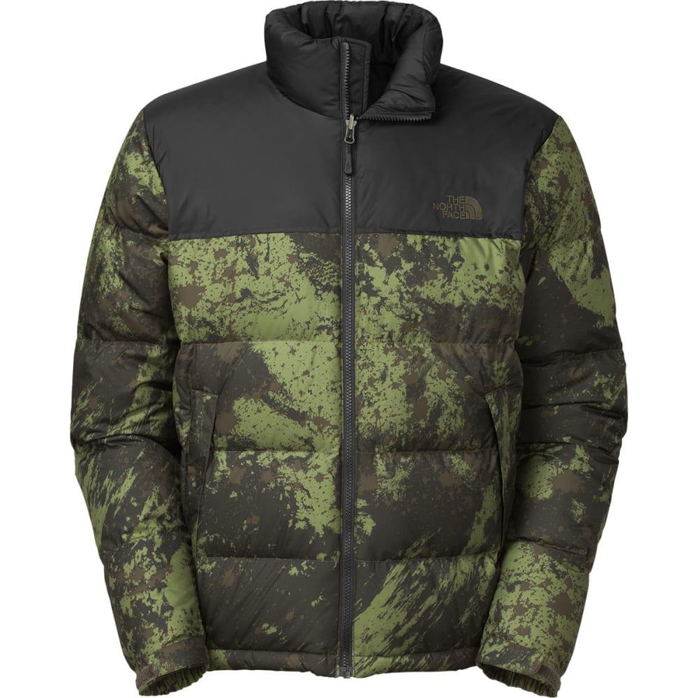 THE NORTH FACE Men's Nuptse Jacket - BLK INK GRN BRSH STR