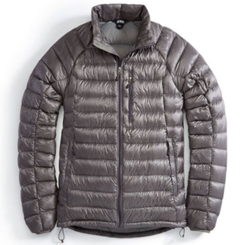 EMS® Men's Feather Pack 800 DownTek™ Jacket, Past Season - PEWTER