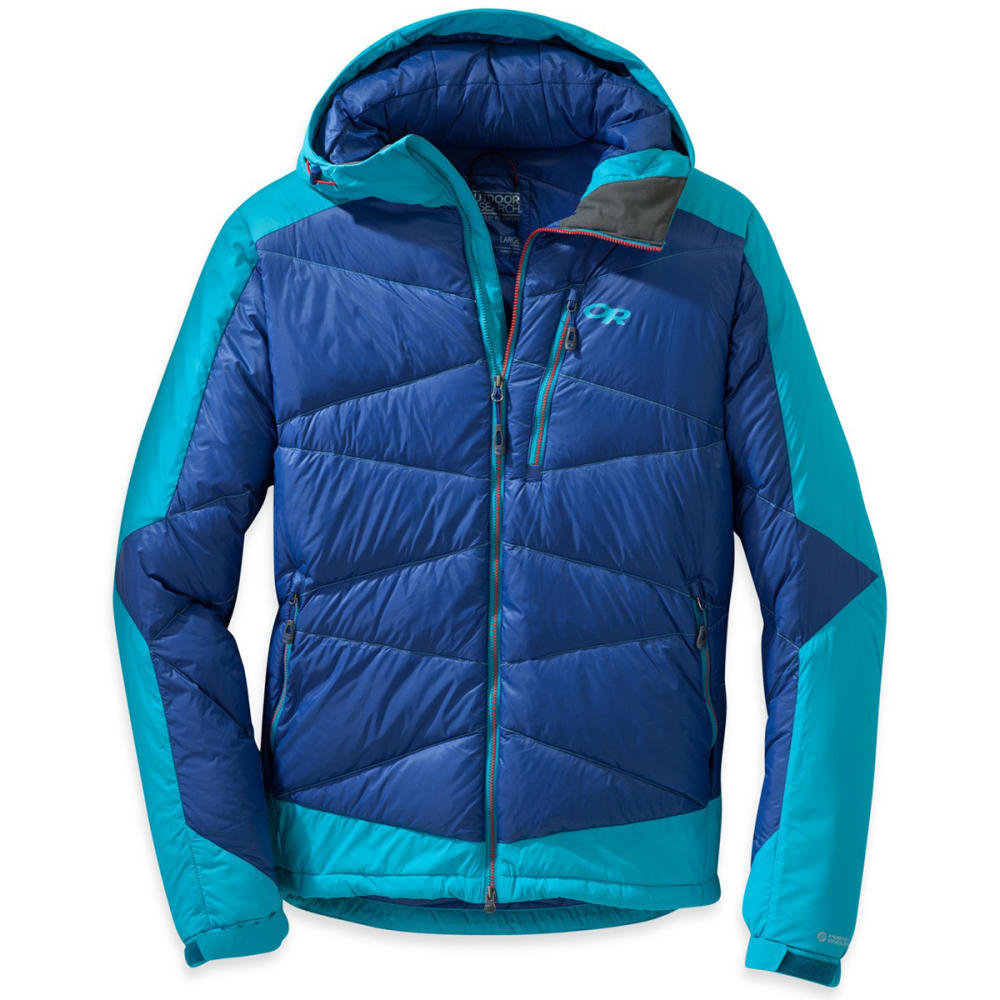 OUTDOOR RESEARCH Men's Diode Hooded Jacket™ - BALTIC