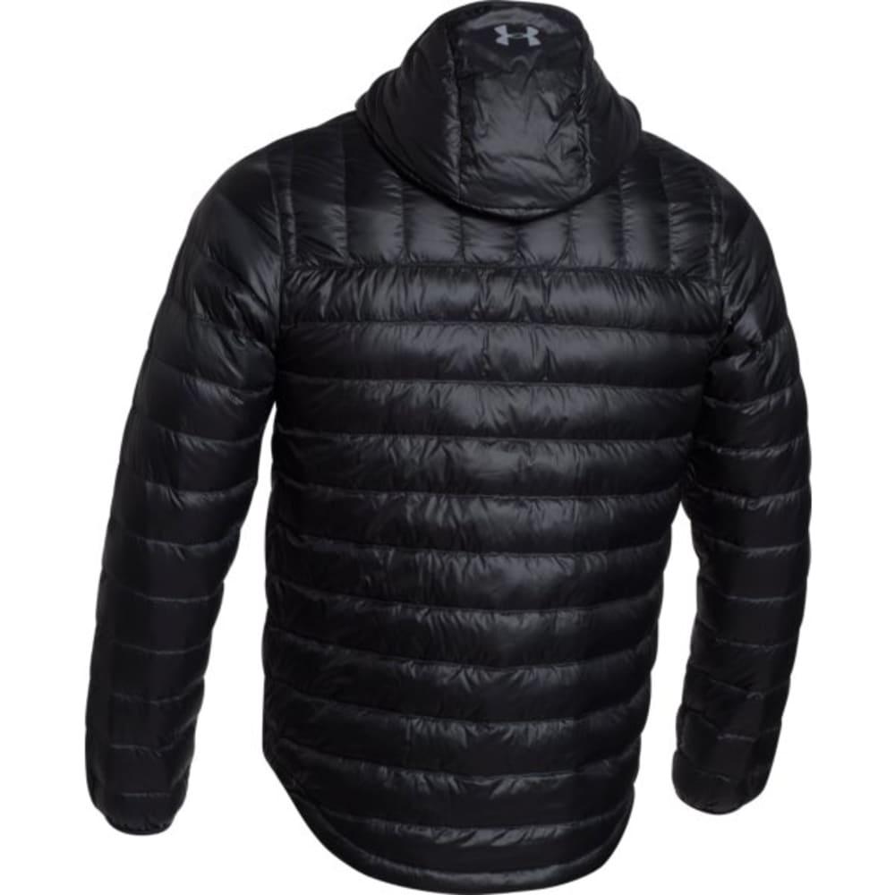 Under Armour Mens Coldgear Infra Turing Hooded Jacket - BLACK