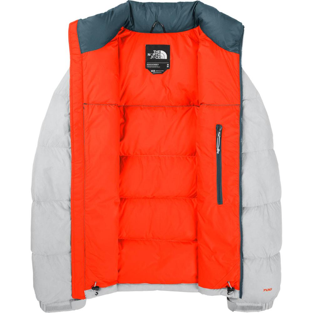 THE NORTH FACE Men's Nuptse Jacket - HIGH RISE GREY HEATH
