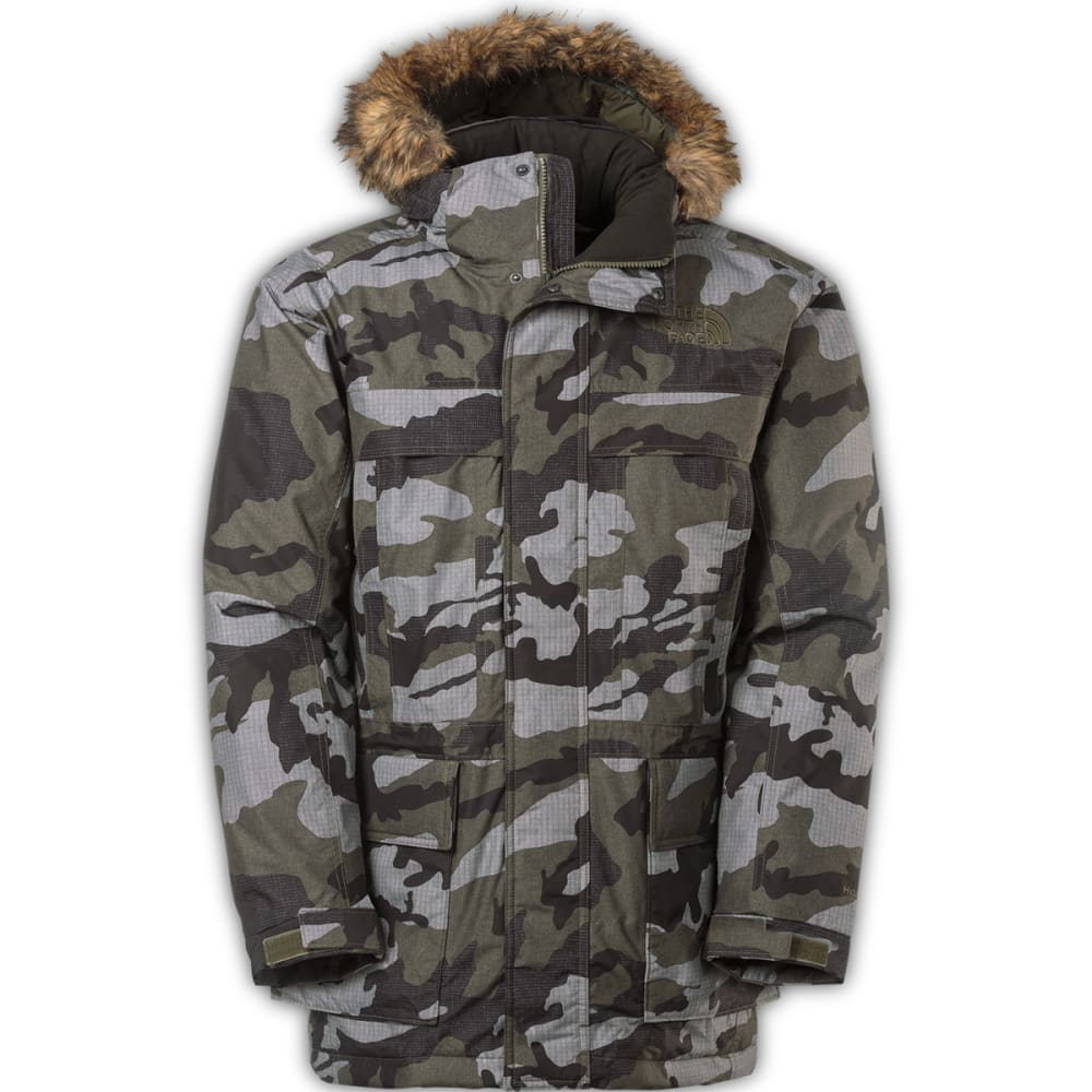 THE NORTH FACE Men's McMurdo Parka II - NEW TAUPE GREEN CAMO