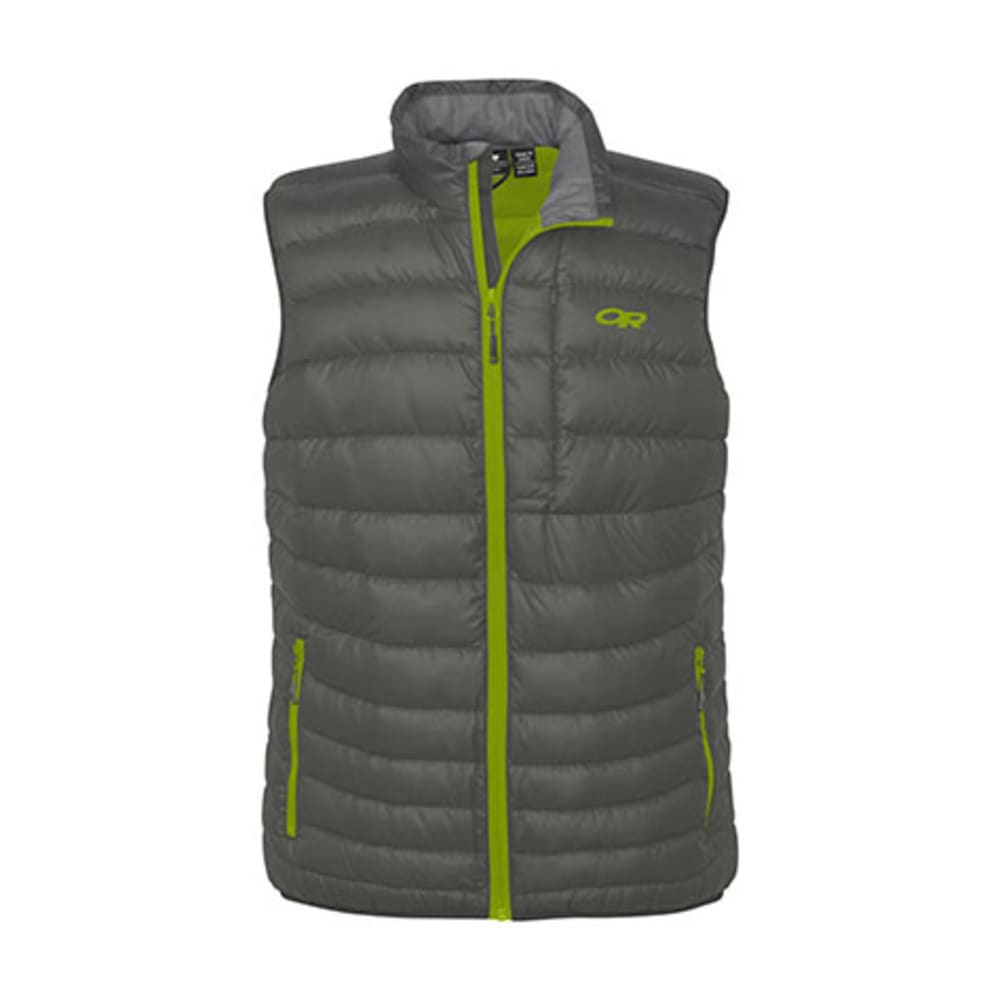 OUTDOOR RESEARCH Men's Transcendent Vest - PEWTER