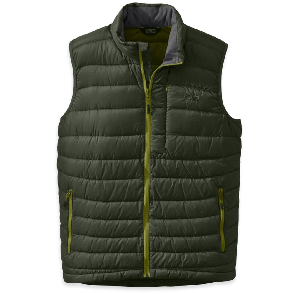 OUTDOOR RESEARCH Men's Transcendent Vest - EVERGREEN/HOPS