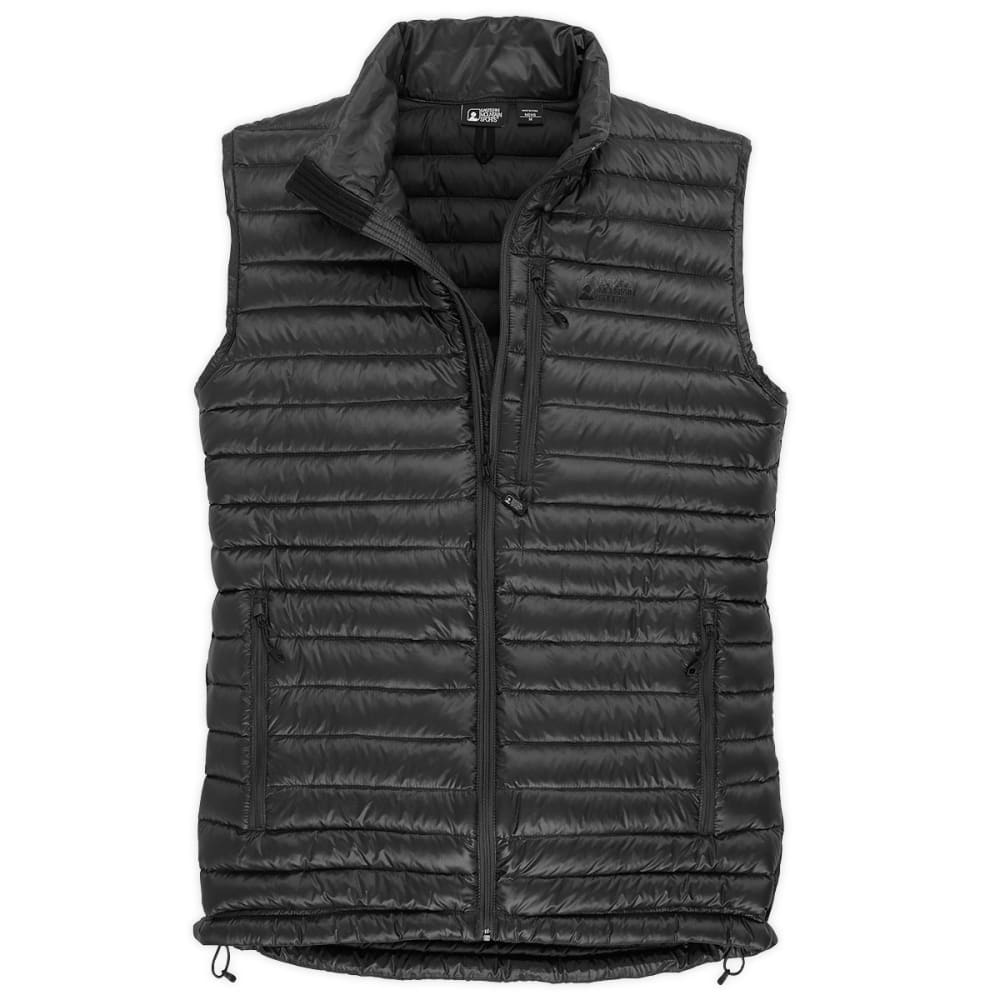 EMS Men's Icarus Down Vest - JET BLACK