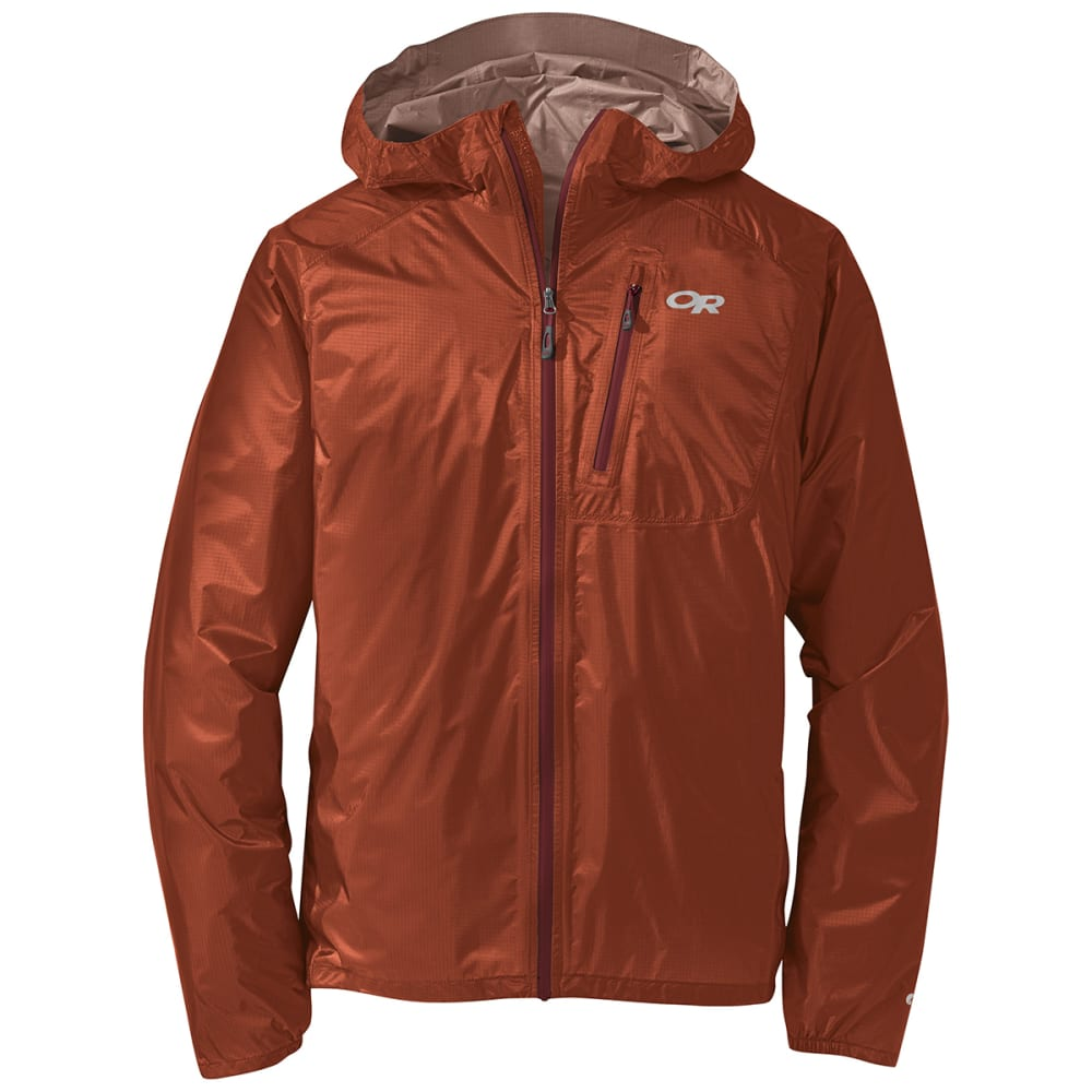 OUTDOOR RESEARCH Men's Helium II Jacket - 1355BNT ORNGE/FIRE