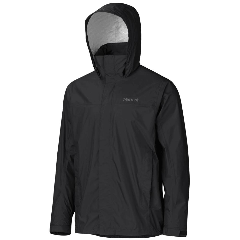 Marmot Men/'s PreCip Lightweight Waterproof Jacket Black