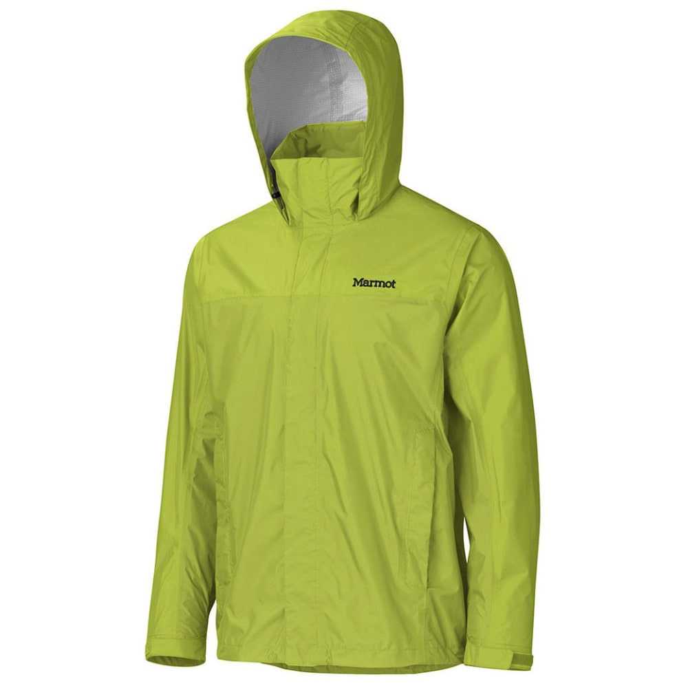 MARMOT Men's PreCip Jacket - BRIGHT LICHEN