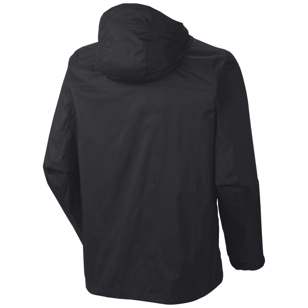 COLUMBIA Mens Evapouration Waterproof Jacket - 010-BLACK