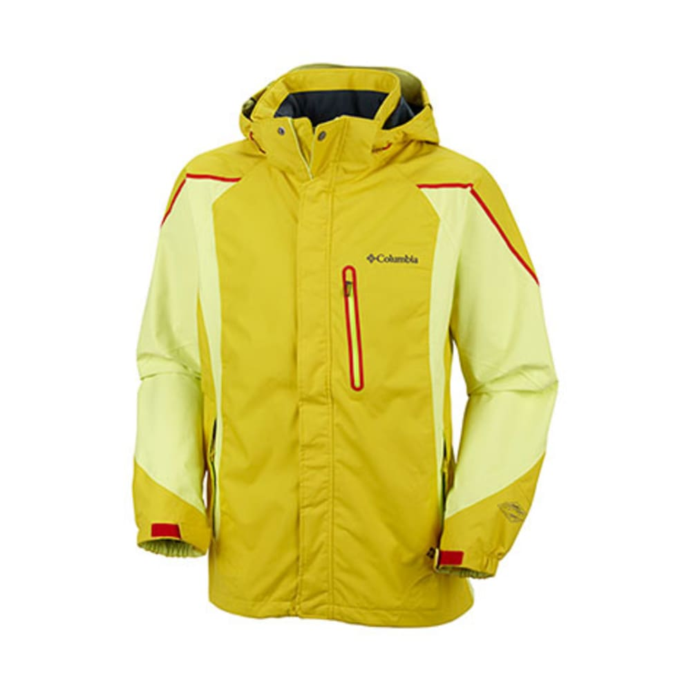 COLUMBIA Men's Bugaboo Kustom Jacket - CURRY
