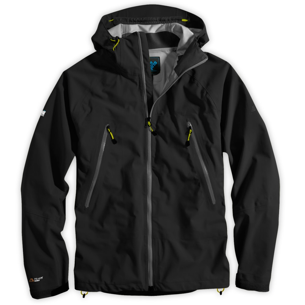 EMS Men's Polartec® NeoShell Helix Jacket, past season - JET BLACK