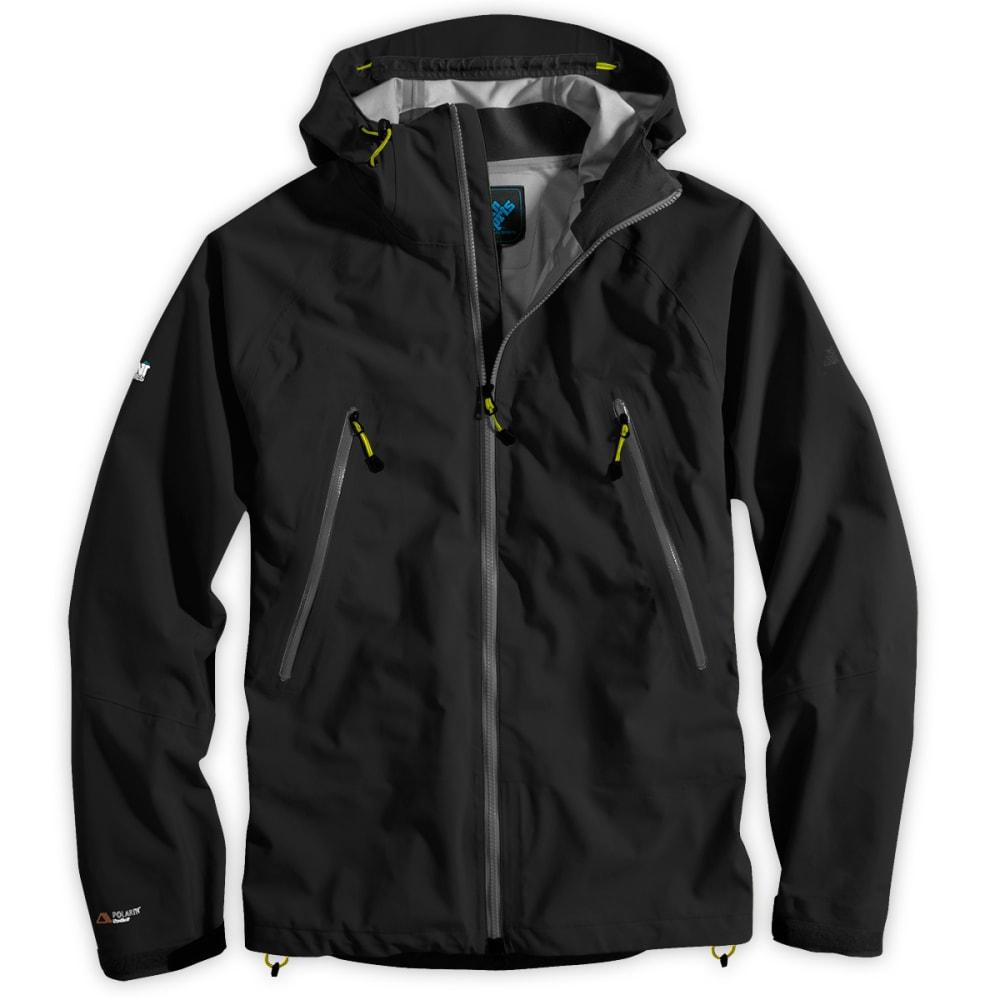 EMS Men's Polartec NeoShell Helix Jacket, past season - JET BLACK