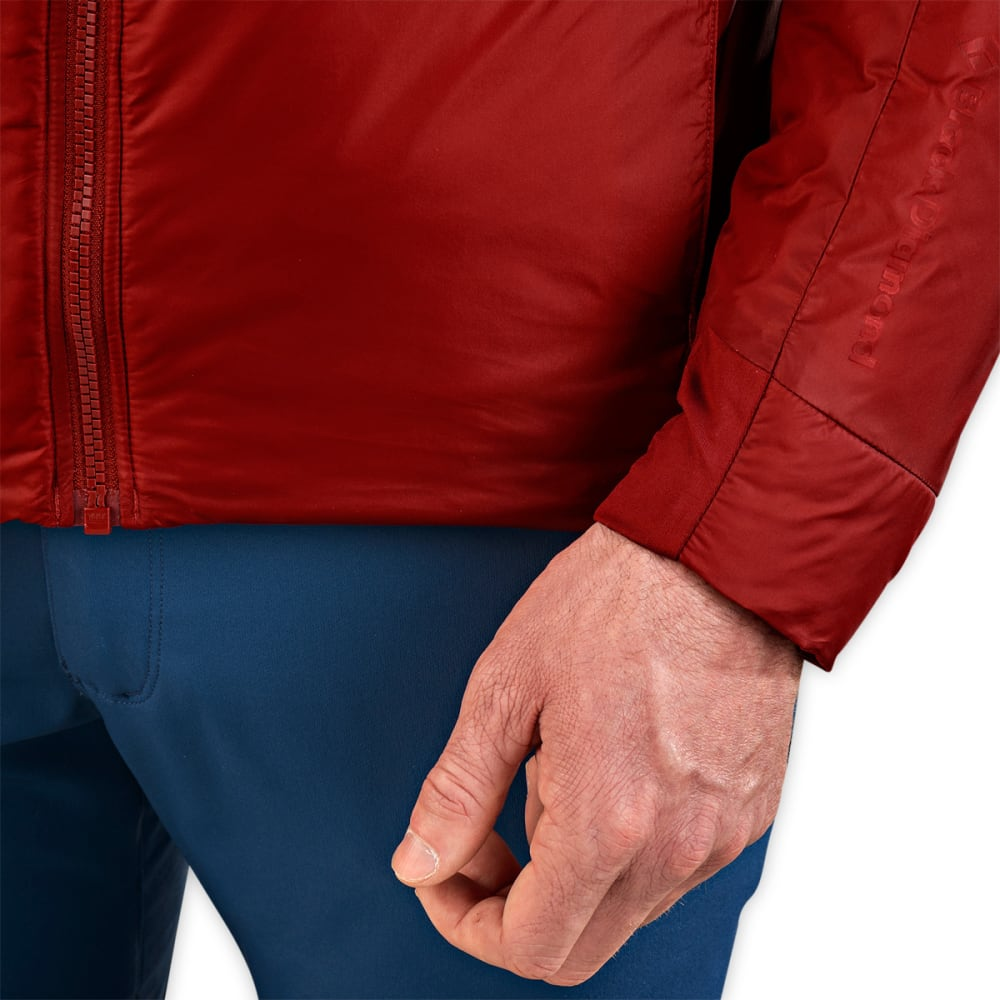 BLACK DIAMOND Men's Stance Belay Jacket - DEEP TORCH