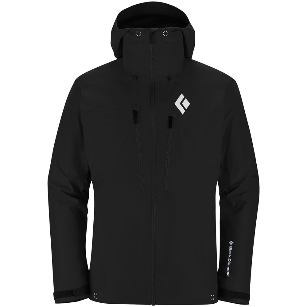 BLACK DIAMOND Men's Sharp End Shell Jacket - SMOKE