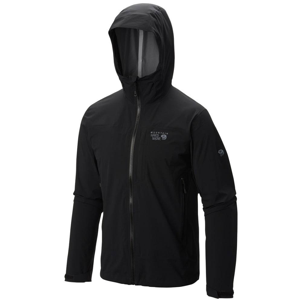 MOUNTAIN HARDWEAR Men's Stretch Ozonic Jacket - 010-BLACK