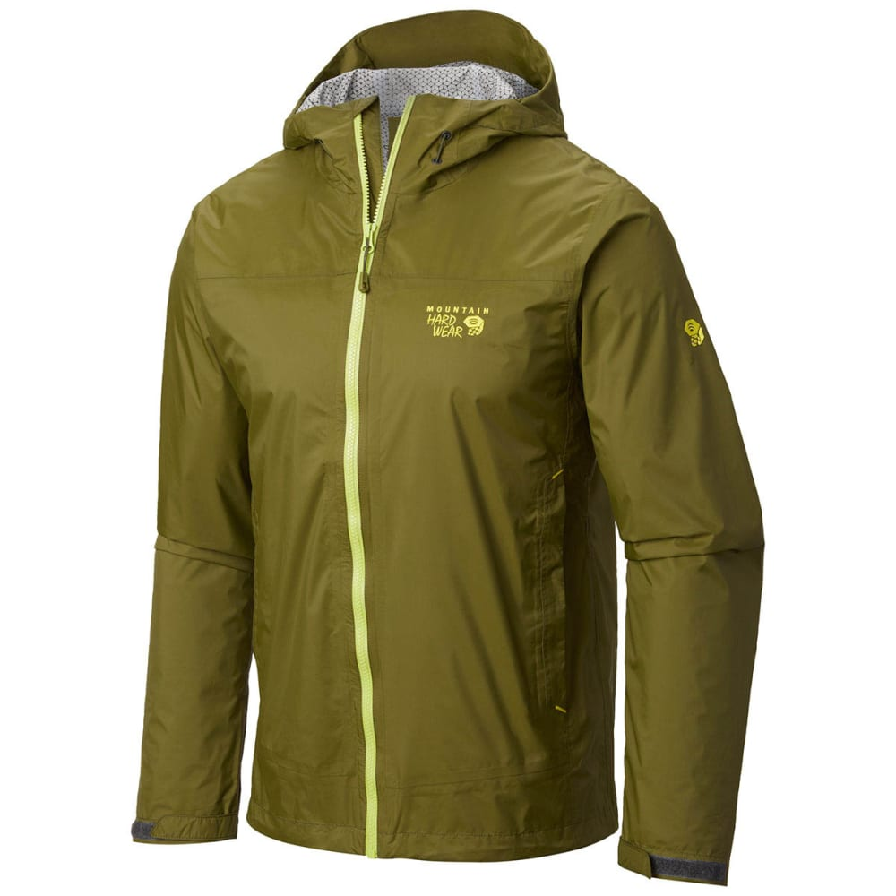 MOUNTAIN HARDWEAR Men's Plasmic Ion Jacket - GREEN