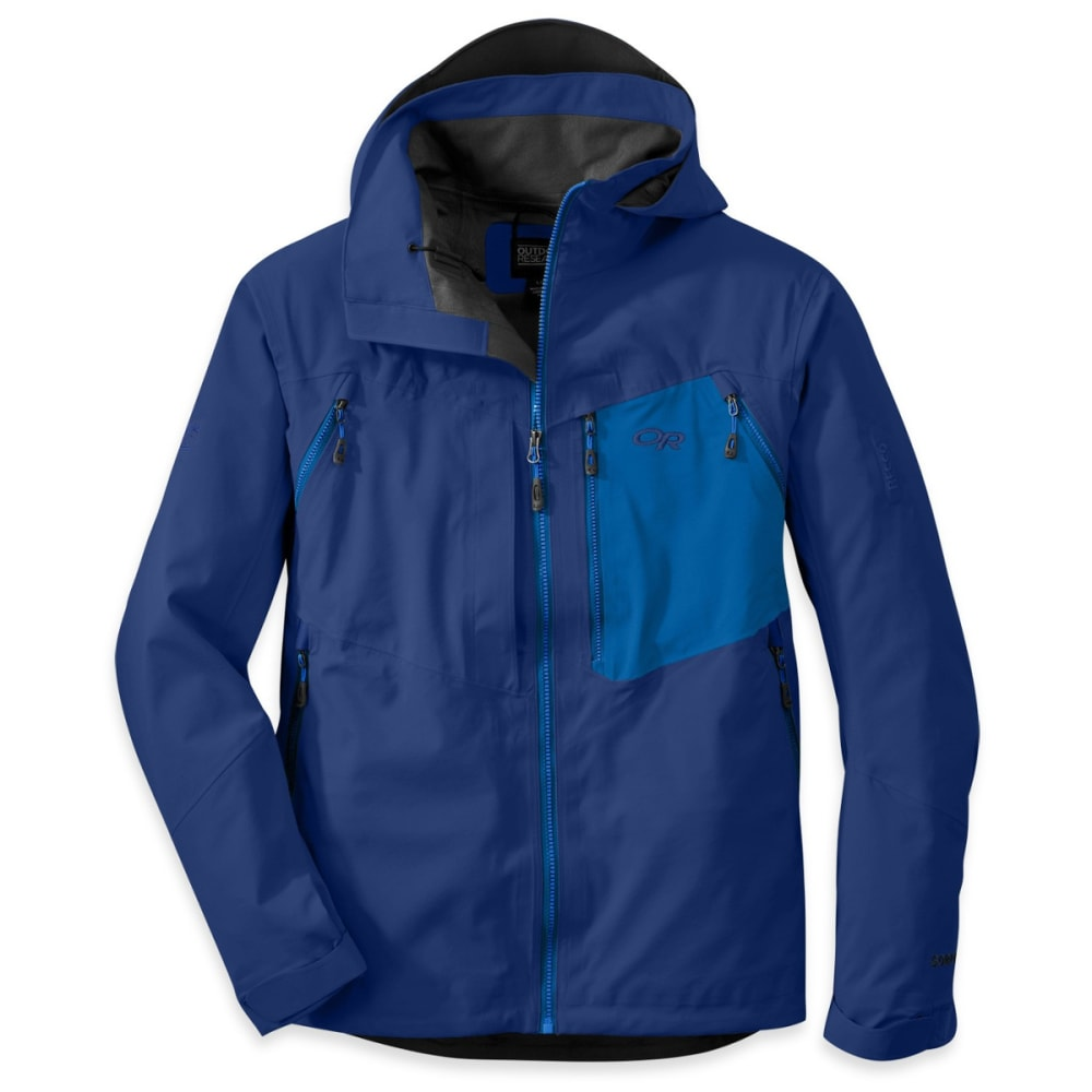 OUTDOOR RESEARCH Men's White Room Jacket - HYDRO/NIGHT