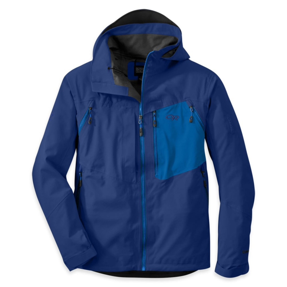 OUTDOOR RESEARCH Men's White Room Jacket - BALTIC/GLACIER