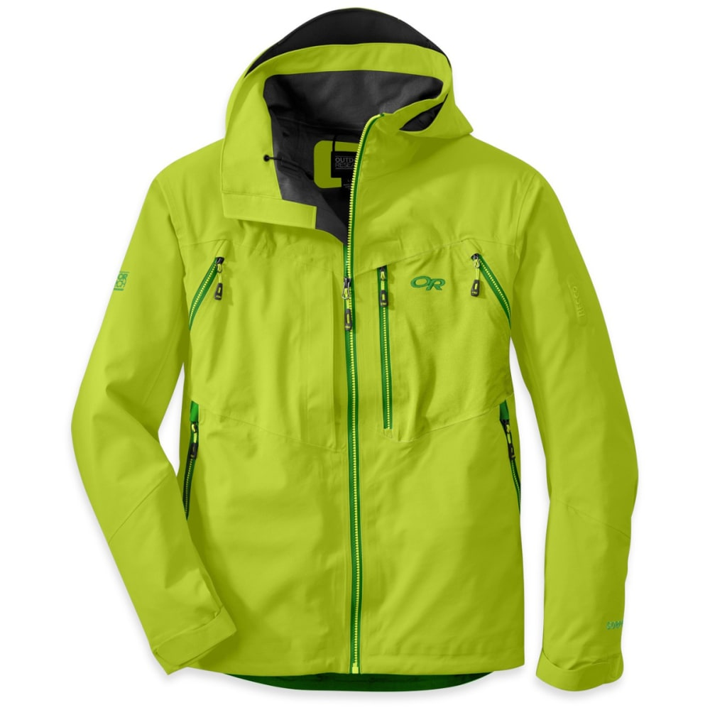 OUTDOOR RESEARCH Men's White Room Jacket - LEMONGRASS