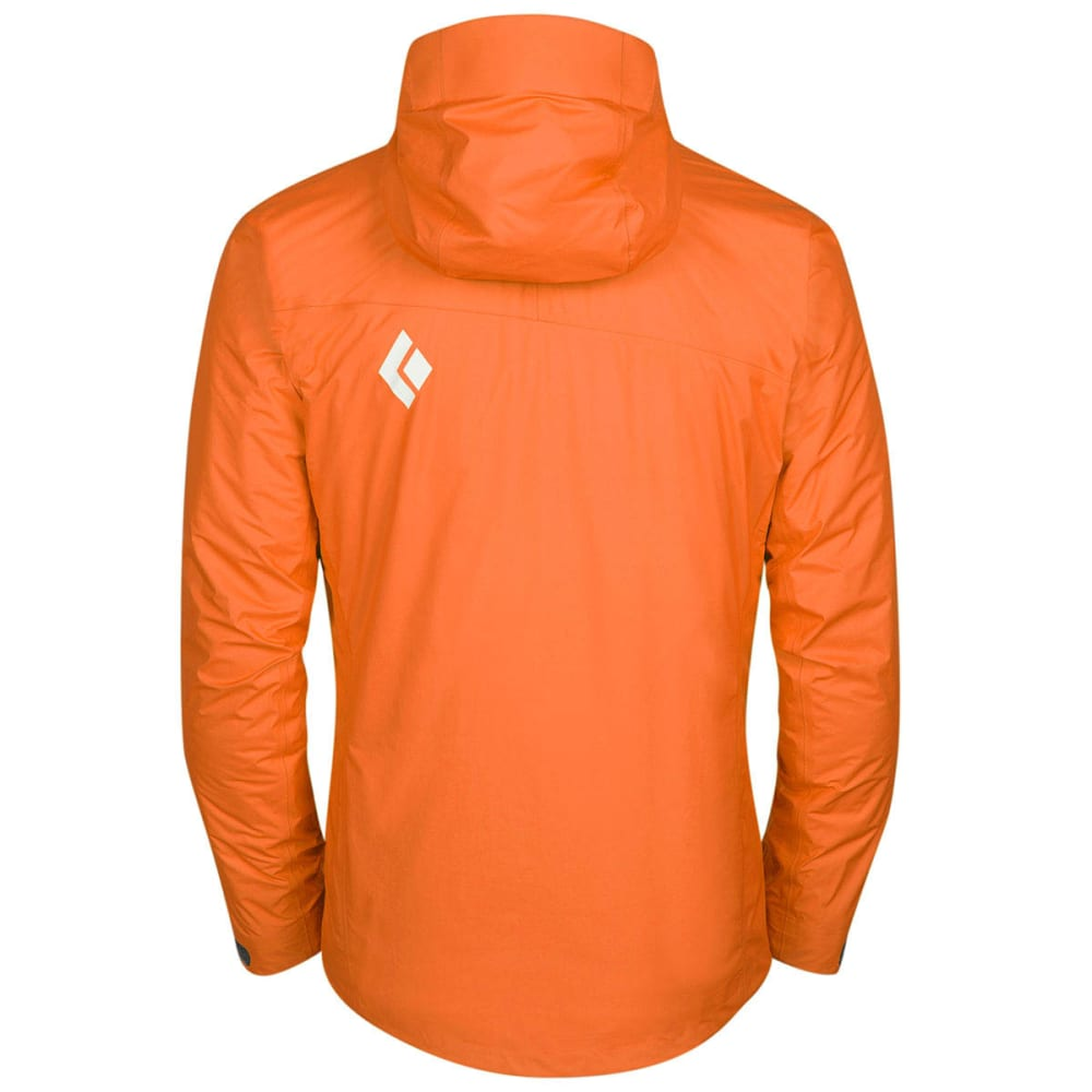 BLACK DIAMOND Men's Mono Point Shell - VIBRANT ORANGE