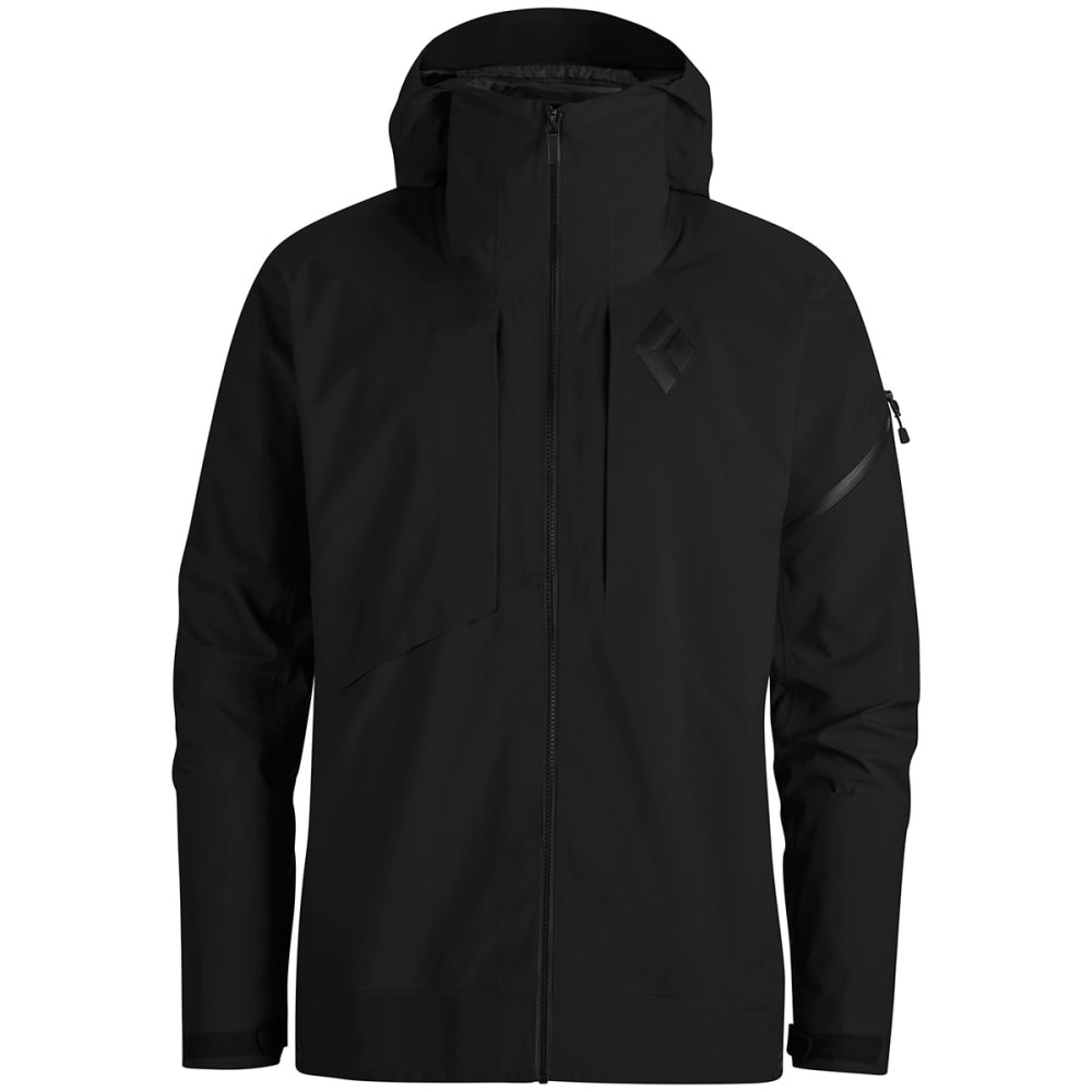BLACK DIAMOND Men's Mission Shell Jacket - SMOKE