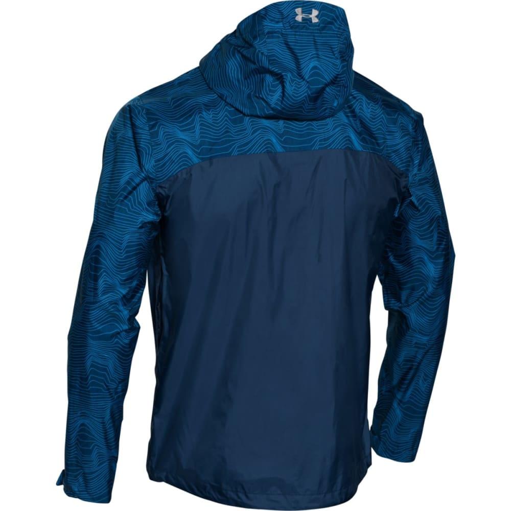 UNDER ARMOUR Men's Storm Surge Waterproof Jacket - ULTRA BLUE/ BLACKOUT